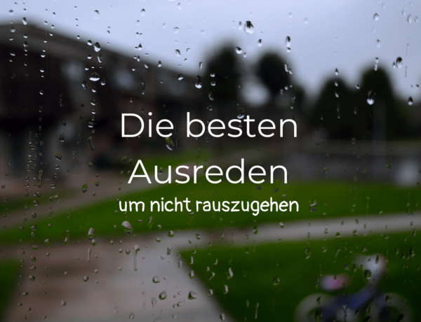 Regentropfen Draußenzeit