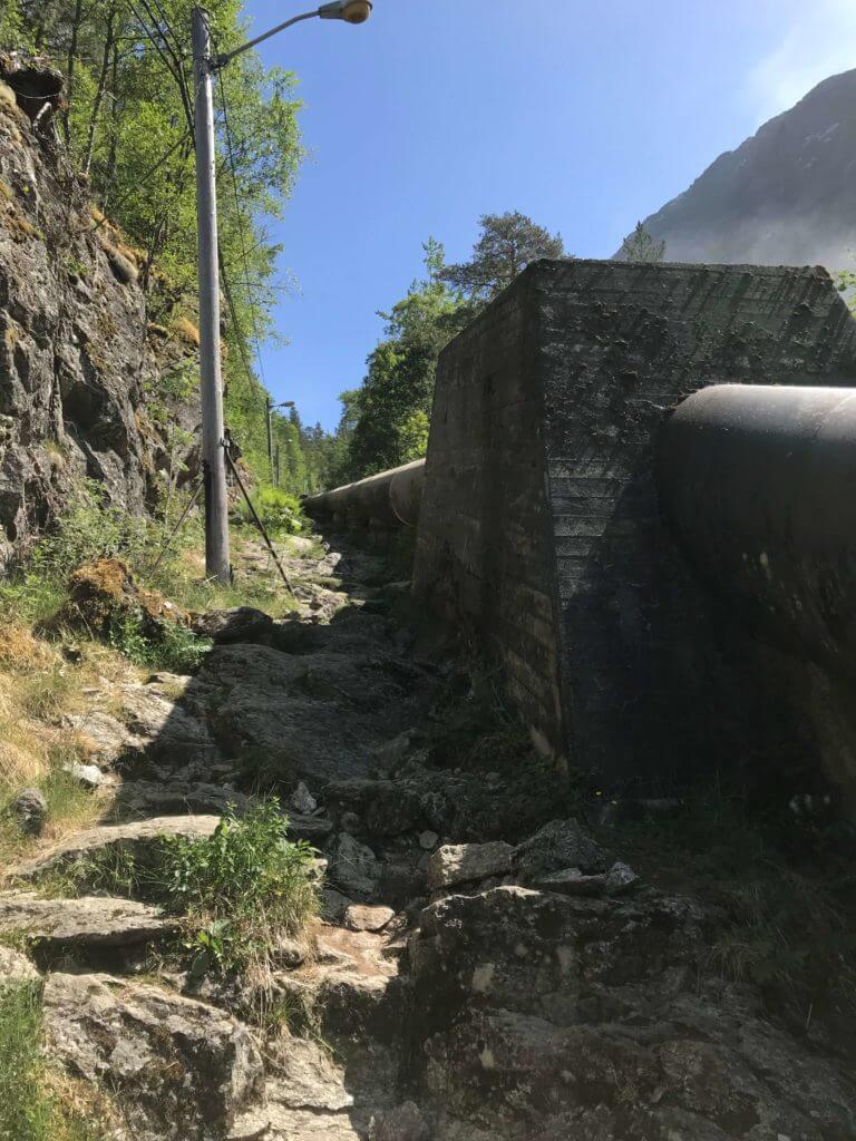 Pipeline Wasserkraft Norwegen