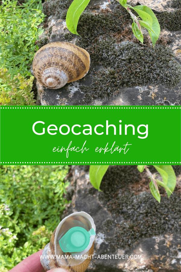 Geocaching Cache im Schneckenhaus