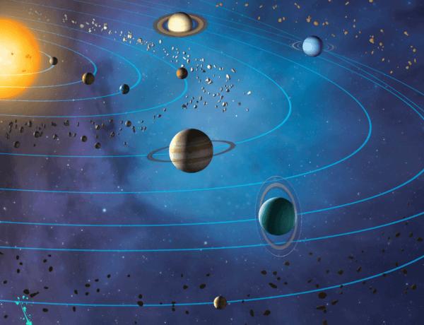 Sonne und Planeten_Planeten für Kinder erklären